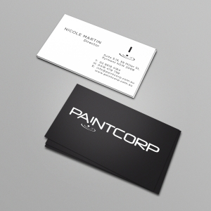 Paint Corp Business Cards