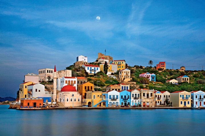 Kastellorizo Greece Greek City Times