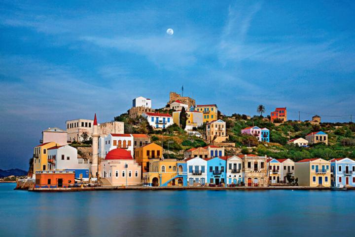 Kastellorizo Greece Greek City Times